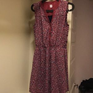 GAP sleeveless flower dress